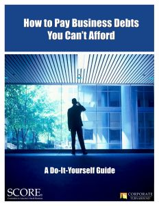SCORE-Business-Debt-Relief-Guide