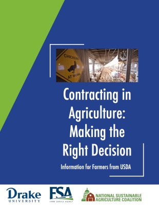 FSA NSAC Production Contracts Guide 2016