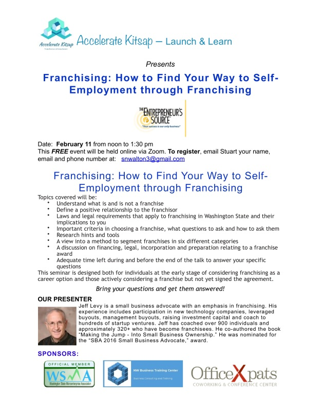 Jeff Levy - Franchising